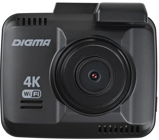 Видеорегистратор Digma FreeDrive 600-GW DUAL 4K черный 4Mpix 2160x2880 2160p 150гр. GPS NTK96660 шапка мужская fabretti цвет джинсовый f2017 45 96 размер универсальный
