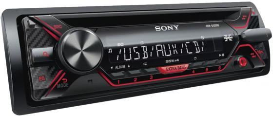 Автомагнитола CD Sony CDX-G1302U 1DIN 4x55Вт автомагнитола cd aux cd