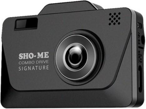 Радар-детектор Sho-Me Combo Drive Signature Видеорегистратор GPS приемник G-сенсор reisenthel складной рюкзак mini maxi fifties black reisenthel