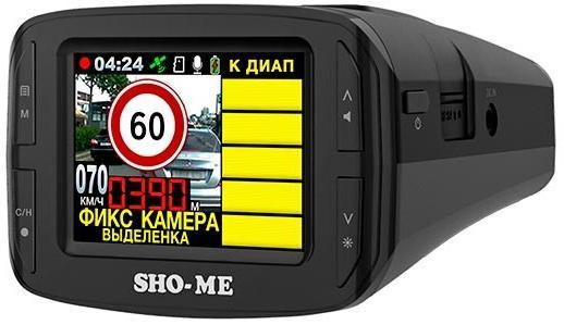 Радар-детектор Sho-Me Combo №3 iCatch Видеорегистратор GPS приемник G-сенсор