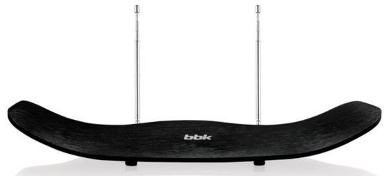 Фото - Антенна телевизионная BBK DA23C активная антенна bbk da25 black