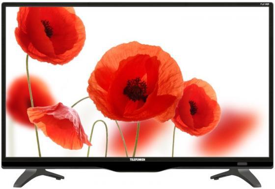 Телевизор LED 21,5 Telefunken TF-LED22S62T2 черный 1920x1080 50 Гц USB HDMI Антенный вход