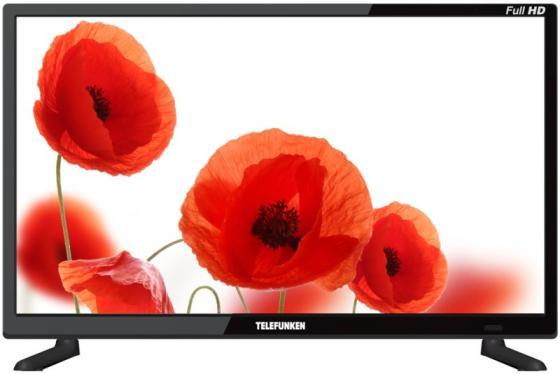 Телевизор LED 21,5 Telefunken TF-LED22S71T2 черный 1920x1080 50 Гц SCART Антенный вход USB