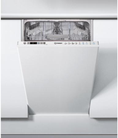 Посудомоечная машина Indesit DSIC 3T117 Z белый машина посудомоечная встр indesit dsic 3t117 45см 10комп 9прог