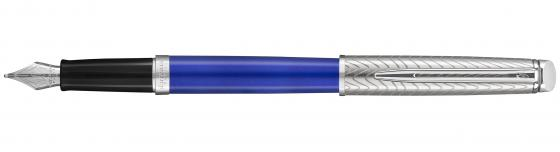 Перьевая ручка Waterman Hemisphere Deluxe Blue Wave CT F 2043217