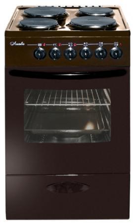 Плита Электрическая Лысьва ЭП 403 МС коричневый эмаль (без крышки) электрическая плита лысьва эп 301 мс белый