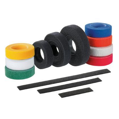 Стяжка Velcro Panduit HLS-15R0 4572x19.1мм нейлон/полиэтилен внутри помещений до +85 черный original airtac compact slide cylinder roller bearing hls series hls6x20sas