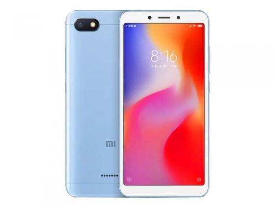 Смартфон Xiaomi Redmi 6A голубой 5.45 16 Гб LTE Wi-Fi GPS 3G смартфон nokia 5 ds медный 5 2 16 гб lte wi fi gps