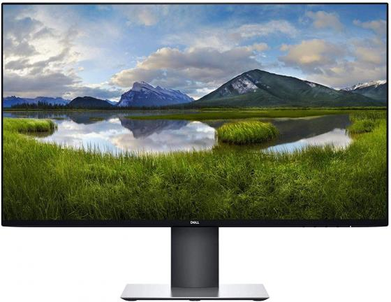 Монитор 27 DELL U2719DC серебристый черный IPS 2560x1440 350 cd/m^2 5 ms USB Аудио HDMI DisplayPort монитор 27 benq pd2710qc черный ips 2560x1440 350 cd m^2 5 ms hdmi displayport mini displayport аудио usb 9h lg2la tse