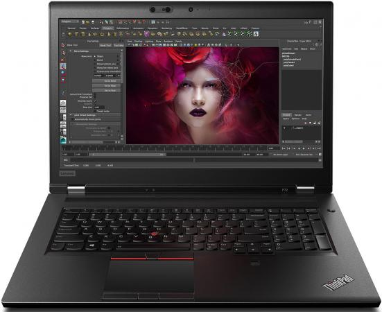 Ноутбук Lenovo ThinkPad P72 17.3 3840x2160 Intel Xeon-E-2186M 1024 Gb 32Gb nVidia Quadro P5200 16384 Мб черный Windows 10 Professional 20MB0000RT