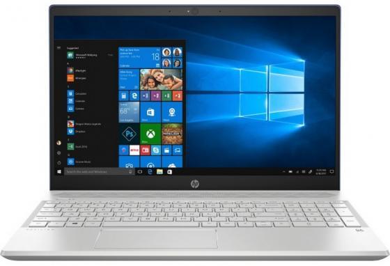 Ноутбук HP Pavilion 15-cs0043ur 15.6 1920x1080 Intel Core i3-8130U 1 Tb 16 Gb 4Gb Intel UHD Graphics 620 синий Windows 10 Home 4MM57EA ноутбук hp pavilion 14 bf003ur 14 1920x1080 intel core i3 7100u 1 tb 4gb intel hd graphics 620 серебристый windows 10 home 2cv30ea
