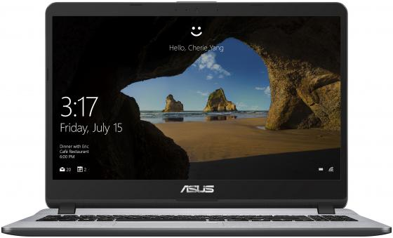 Ноутбук ASUS X507UB-BQ362T 15.6FHD/Intel Core i3-8130U/6GB/1TB/GF MX110/noODD/WiFi/BT/Windows 10 Home/Stary Grey asus k501uq dm074t [90nb0bp2 m01210] grey metal 15 6 fhd i3 6100u 4gb 1tb gf940mx 2gb nodvd w10