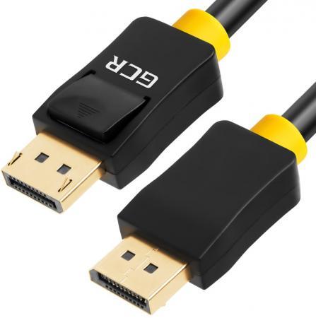 Кабель DisplayPort 0.5м Green Connection 33-050530 круглый черный