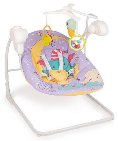 Электрокачели Happy Baby Jolly V2 (violet) happy baby happy baby развивающая игрушка руль rudder со светом и звуком