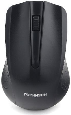 Гарнизон Мышь беспров. GMW-430, чип X, черный, 1200 DPI, 2 кн.+ колесо-кнопка, блистер мышь a4 tech x 705k usb черный 3 кн 1 кл кн 400 2000 dpi