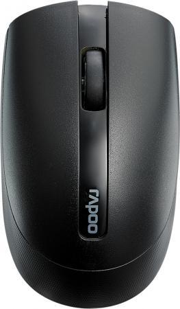 Мышь беспроводная Rapoo M17, Black rapoo черный беспроводная