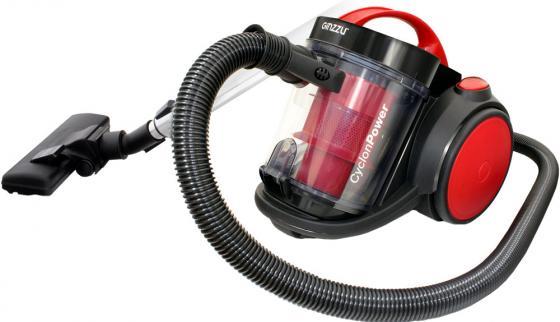 Пылесос Ginzzu VS435, 2100/420Вт, красный цена и фото