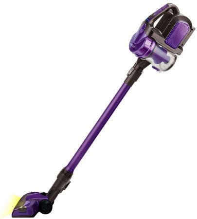 Пылесос GINZZU VS401 сухая уборка фиолетовый цена и фото