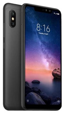 Смартфон Xiaomi Redmi Note 6 Pro черный 6.26 32 Гб LTE Wi-Fi GPS 3G Bluetooth X20331 смартфон asus zenfone max pro zb602kl черный 6 32 гб nfc lte wi fi gps 3g 90ax00t1 m00050