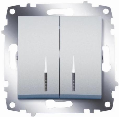 Выключатель Abb Cosmo 10 A белый 619-010200-203 выключатель abb cosmo 10 a белый 619 010200 203