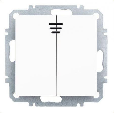 Выключатель ZAKRU Clasico 10 A белый 601298