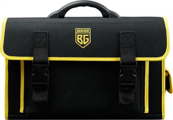 Сумка-кейс для инструментов BERGER ШТАНБЕРГ BG1192 24 кармана плечевой ремень сумка для инструментов berger мюриц 48 х 26 х 25 см bg1193