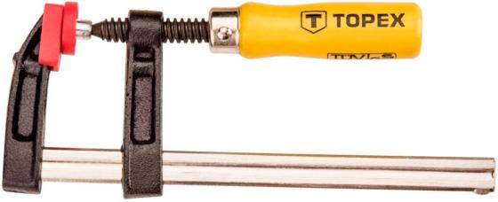 Струбцина TOPEX 12A125 тип F 120x500мм струбцина f 160x80мм ehoma g16p