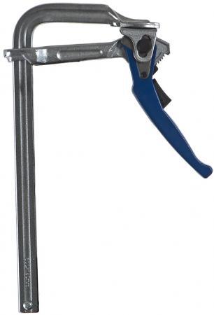 Струбцина F-образная рычажная КОБАЛЬТ 249-105 140 х 300 мм, кованая струбцина stayer f образная 50х250мм 3210 050 250