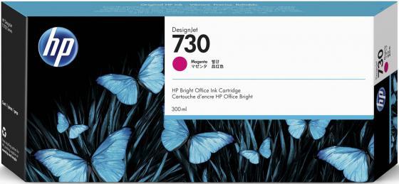 Фото - Картридж HP 730 струйный пурпурный (300 мл) картридж струйный hp 729 f9j81a цветной