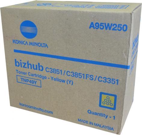 Тонер Konica-Minolta bizhub C3351/C3851 желтый TNP-49Y