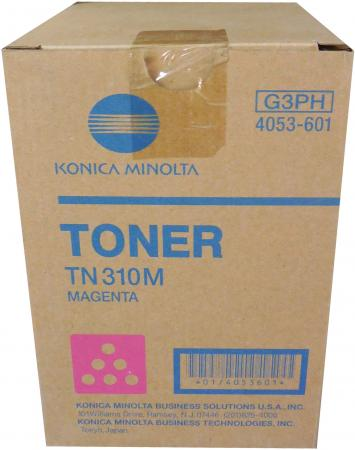 Фото - Тонер Konica-Minolta bizhub C350/351/450 красный TN-310M (o) тонер konica minolta bizhub c350 351 450 желтый tn 310y o