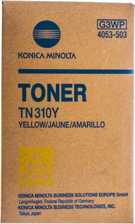 Фото - Тонер Konica-Minolta bizhub C350/351/450 желтый TN-310Y (o) тонер konica minolta bizhub c350 351 450 желтый tn 310y o