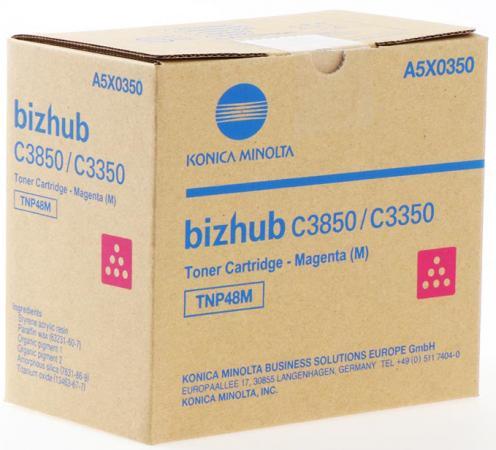 Тонер Konica-Minolta bizhub C3350/C3850 красный TNP-48M