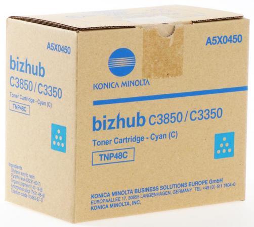 Фото - Тонер Konica-Minolta bizhub C3350/C3850 синий TNP-48C картридж konica minolta tnp 48c