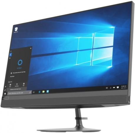 цена на Моноблок Lenovo IdeaCentre AIO520-24IKU 23.8'' FHD(1920x1080)/Intel Core i3-6006U 2.00GHz Dual/4GB/1TB/RD 530 2GB/DVD-RW/WiFi/BT4.0/CR/KB+MOUSE(USB)/DOS/1Y/BLACK