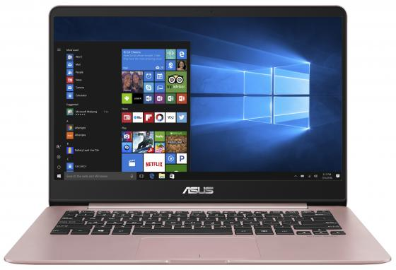 Ноутбук ASUS Zenbook UX430UA-GV286R 14 1920x1080 Intel Core i5-8250U 256 Gb 8Gb Intel UHD Graphics 620 розовый Windows 10 Professional 90NB0EC4-M13800 ноутбук hp elitebook 850 g5 3jx15ea intel core i5 8250u 1600 mhz 15 6 1920х1080 8192mb 512gb hdd dvd нет intel® uhd graphics 620 wifi windows 10 professional x64