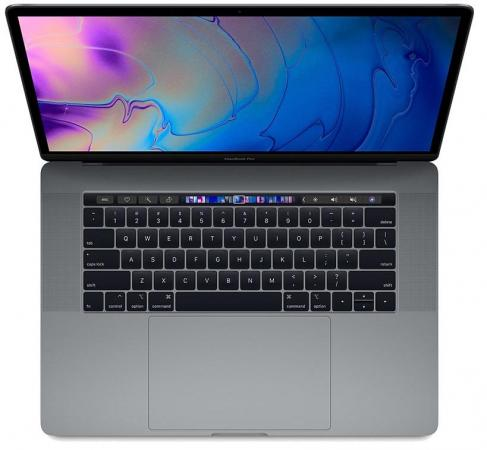 Ноутбук Apple MacBook Pro 15.4 2880x1800 Intel Core i9-8950HK 2048 Gb 32Gb Bluetooth 5.0 AMD Radeon Pro 555X 4096 Мб серый macOS Z0V0000T8 fashion 360 rotating case for ipad pro 12 9 inch litchi leather stand back cover apple fundas