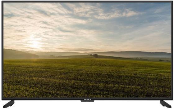 Телевизор ЖК 55'' Supra/ 55'', LED, 4K UHD, DVB-T2/С/S/S2, Smart TV, яркость 330кд/м2, телетекст, 2х10Вт, Ethernet (RJ-45), Wi-Fi, черный жк телевизор supra 32