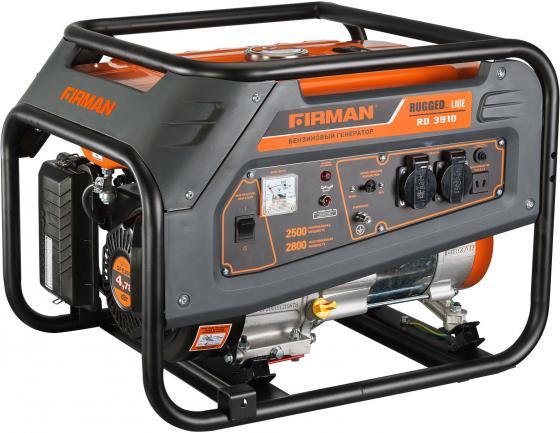 Бензиновый генератор FIRMAN RD3910 2,8кВт 15л 12В минимойка компактная berkut smart washer sw c1 2л мин 12в 60вт 15л