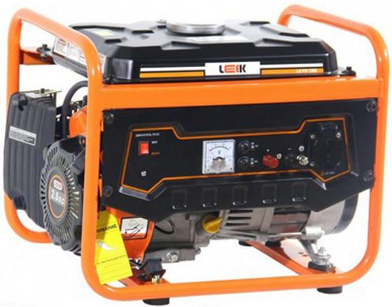 Бензиновый генератор LEEK LE PG 1200 руч./старт-р, 1.2 кВА, 0.9 кВт, 93.5 см3, работа 9 ч бензиновый генератор ergomax ga 1200 00000092334