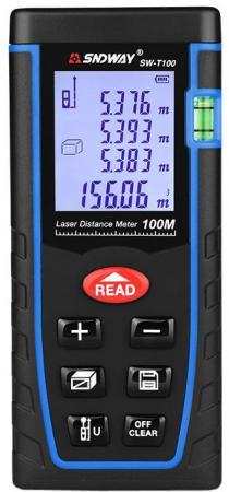 Дальномер SNDWAY SW-T100 лазерный 100м цена