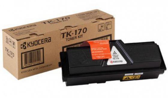 Картридж KYOCERA Тонер-картридж TK-170 7 200 стр. Black для FS-1370DN/1320D/DN, P2135d/P2135dn t2 tc k170 тонер картридж для kyocera fs 1320d 1370dn ecosys p2135d p2135dn