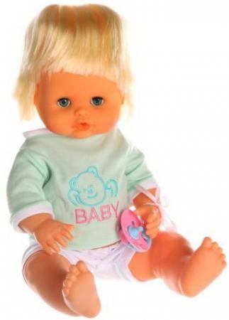 Пупс Наша Игрушка Baby Toby 36 см писающая пьющая говорящая игрушка
