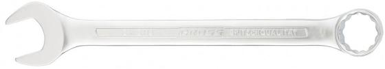 Ключ комбинированный GROSS 15127 (8 мм) CrV холодный штамп ключ gross 15130 11 мм