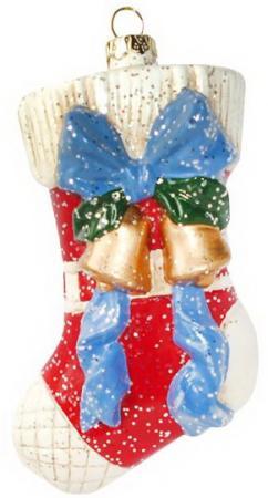 Фото - Украшение Новогодняя сказка Подарочный носок 12.5 см 1 шт пластик украшение новогодняя сказка балерина 10 8 15 см 1 шт пластик текстиль