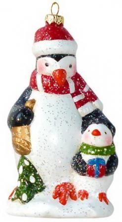 Фото - Украшение Новогодняя сказка Пингвин 13.2 см 1 шт пластик украшение новогодняя сказка балерина 10 8 15 см 1 шт пластик текстиль