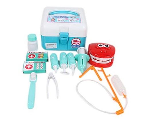Игровой набор Наша Игрушка Чемоданчик стоматолога 13 предметов игровой набор наша игрушка сумочка стилиста 11 предметов
