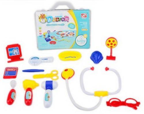 Игровой набор Наша Игрушка BearDoctor 13 предметов игровой набор наша игрушка набор медсестры 13 предметов