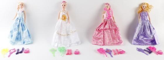 Кукла с аксессуарами в асс-те, 6*3*26,5 см кукла yako m6579 6
