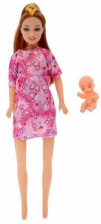 Кукла Наша Игрушка Нэли беременная игрушка